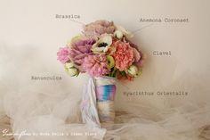 guía de #flores #ramo #novia