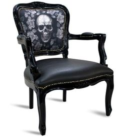 I wonder who died in this chair?