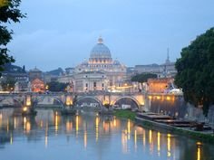 the vatican sunset