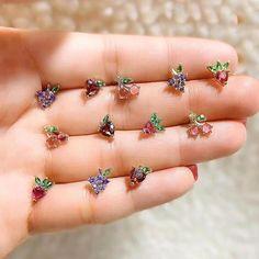 Ear Jewelry, Cute Jewelry, Gold Jewelry, Jewelery, Jewelry Accessories, Jewelry Design, Vintage Jewellery, Antique Jewelry, Jewelry Necklaces