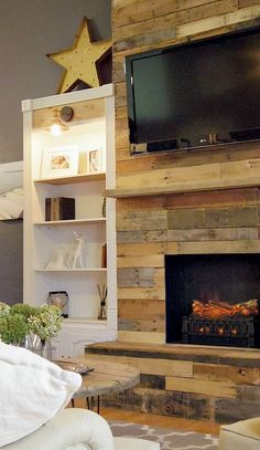 If you've been hanging out with us the past few months you know we finally finished Our DIY Pallet Wood Fireplace. It's honestly my favorite thing in life. I still can't believe it's my house when I walk in. I know that sounds extreme but it's just exactly what I wanted. We started the whole … … Continue reading →