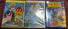 DVD lot of Kids Movies 7 All Together Children Spongebob Scooby Doo Alvin $14.99