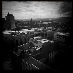 Glasgow, looking down.