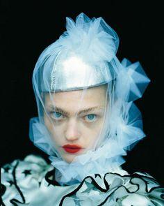 Tim Walker, Sasha Pivovarova as Russian Knight, Kizhi Russia, 2006 | Tim Walker.