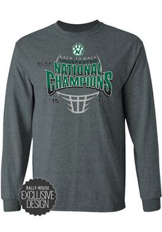 save off 9fd7f a7194 Northwest Missouri State Bearcats Green National Champions Tee