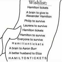 I am lucky and already got to see Hamilton, but everything else is accurate.