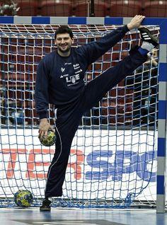 Fantastic handball goalkeeper