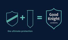 Good Knight Condoms — The Dieline - Branding & Packaging Design