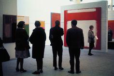 sandra lousada… mark rothko exhibition at whitechapel gallery, london, 1961