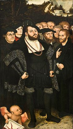 Lucas Cranach the Younger - Martin Luther and the Wittenberg Reformers - Google Art Project.jpg