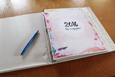 2016 printable planner | One Mama's Daily Drama --- Includes monthly calendar…