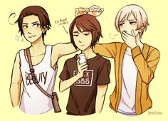 i am so sorrY i just??? love this ot3? ?? THESE NERDS(hong kong being the shortest tho just heck me up)