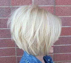 Graduated Layered Hairstyles for Short Hair