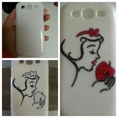 My DIY Phone case. Swarovski Disney Snow White Phone Case