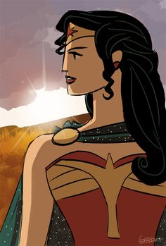 Wonder Woman by Jordan Gibson