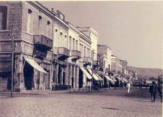 The Old City promenade circa 1920 Holy Saturday, Chios, Historical Pictures, Old City, Greece, Old Things, Street View, Island, Modern