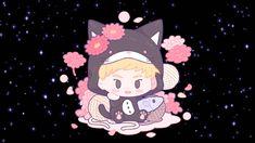 Xiumin Exo, Fan Art, Chibi, Minnie Mouse, Disney Characters, Fictional Characters, Cartoon, Cute, Entertainment