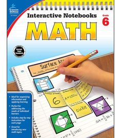 Time-Saving interactive notebook templates that allow students to show what they know! Interactive Notebooks: Math for sixth grade is a fun way to teach and reinforce effective note taking for student