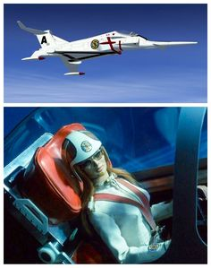 Rhapsody Angel from Captain Scarlet. Ufo Tv Series, Best Series, Scarlet, Thunderbirds Are Go, Tv Themes, Fritz Lang, Sci Fi Ships, Sci Fi Tv, Matchbox Cars