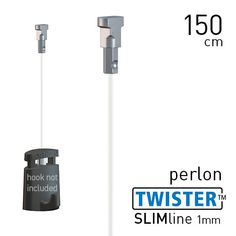 Artiteq Twister Slimline 1mm Perlon 150cm to 300cm
