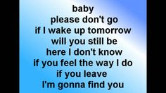 mike posner - please don`t go (official lyrics video)