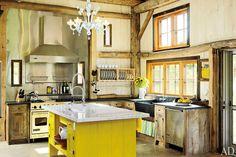 Деревенские кухни | Пуфик - блог о дизайне интерьера