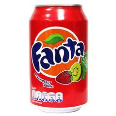 Купить Fanta Strawberry & Kiwi 330 мл — цена доставка магазин Сладкая страсть Москва