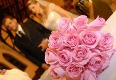 Buquê de rosas cor de rosa de Adonai Eventos