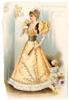 Women 1896, Plate 062 :: Costume Institute Fashion Plates