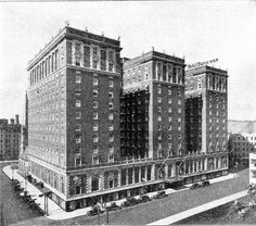 Hotel Syracuse-should have stayed closer to campus. This hotel must have been really something years ago.