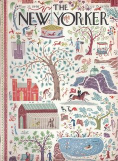 Joseph Low : Cover art for The New Yorker 797 - 25 May1940