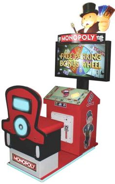 Monopoly Arcade Video Redemption Game  From ICE Games   Get more information about this game at: http://www.bmigaming.com/games-catalog-icegames.htm
