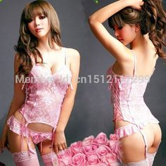 91d7a2664 Find More Babydolls  amp  Chemises Information about 4 Colors Fashion Women Sexy  Lingerie Nightwear Corset