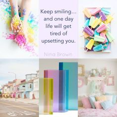 - nine brown Collages, Quote Collage, Beautiful Collage, Color Quotes, Praise God, Color Of Life, Way Of Life, Good Mood, Positive Thoughts