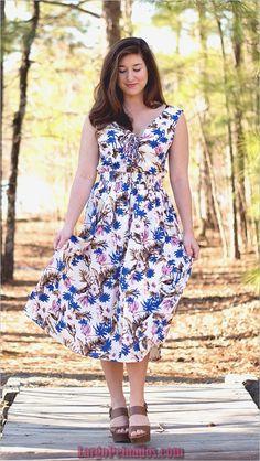 6f8eebfe10f2 45 trajes y vestidos de Pascua para que las mujeres prueben este año Spring  Dresses,
