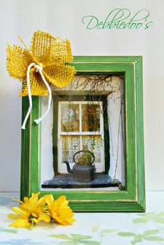 A diy picture frame makeover