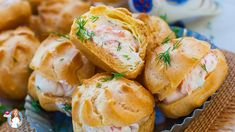 Cold Appetizers, Seafood Appetizers, Cheese Appetizers, Easy Appetizer Recipes, Shellfish Recipes, Seafood Recipes, Profiteroles Recipe, Tatyana's Everyday Food, Appetizers