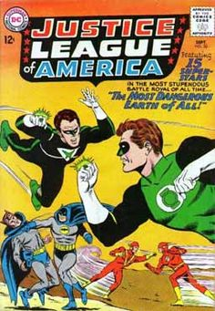 My first comic-book. A life-changing experience (Mike Sekowsky, Murphy Anderson)
