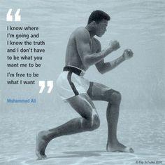 Muhammad Ali quote :-)
