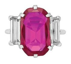 6.29 Burma ruby for $1.32 million or over $200,000 per carat during its Alice Appleton Hay estate jewelry sale on April 13. She was the the daughter-in-     law of President Lincoln's private secretary John Hay.