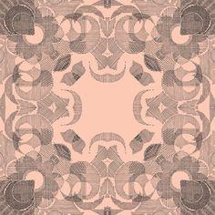 RETROLINES Textile design - Claire COLIN