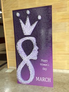 Nail & Thread art- Women's day special