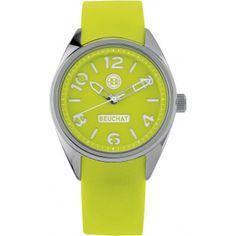 Montre BEUCHAT Hero Color, Montre Vert Fluo - Femme BEU0347-6 - 99.00 €
