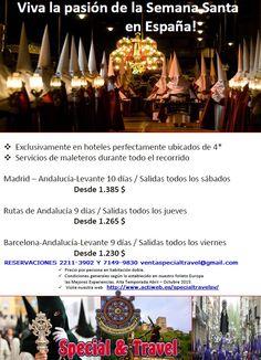 Madrid en semana santa
