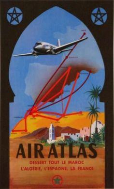 Air Atlas - Morocco, Algeria, Spain, France