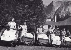 Camp Curry maids, ca. 1930s. <br/>  (YP&CC Collection)
