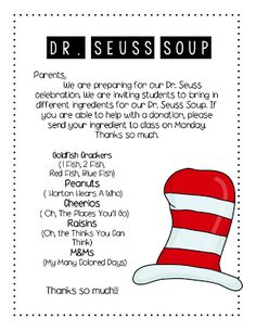 Many teachers were planning ahead and mentioned READ ACROSS AMERICA DAY is next week! It is such a fun celebration. The kiddos. Dr Seuss Activities, Library Activities, Classroom Activities, Sequencing Activities, Dr Seuss Week, Dr Suess, Cause And Effect Activities, Dr Seuss Crafts, Read Across America Day