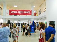 """World Press Photo Contest 2016 exhibition launched in Arrecife, Lanzarote"" for Lanzarote Business and Residents Association"