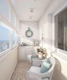 Small Balcony Design, Small Balcony Decor, Balcony Decoration, Interior Balcony, Apartment Balcony Decorating, Interior Windows, Home Room Design, Home Interior Design, House Design