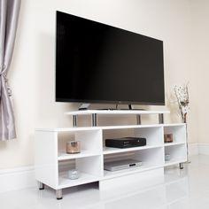 Scandinavian Style White TV Unit #Scandinavian #home #furniture ...